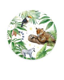 Creative Lab Amsterdam behangcirkel Tiger Jungle