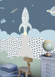 IK2151 Raket grijsblauw