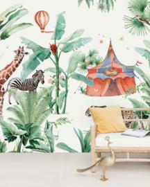 Creative Lab Amsterdam mural Jungle Circus