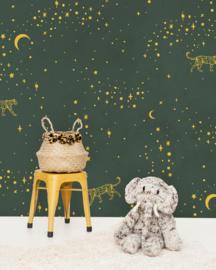 Creative Lab Amsterdam mural Stargazer Gold
