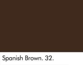 Little Greene verf Spanish Brown 32