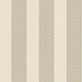 Little Greene behang Paint Spot - Vanilla-Taupe