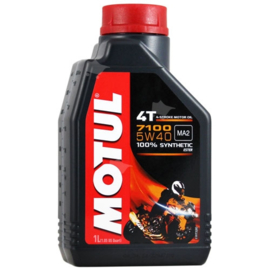 olie  Motul 7100 100% synthetisch 5W40 1L