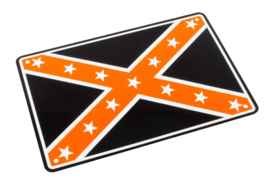 Parkeer Bord   / Parking Signs Confederate Flag