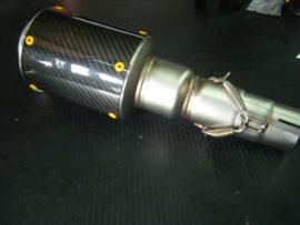 uitlaat VR-Bomb CARBON R6 06-11