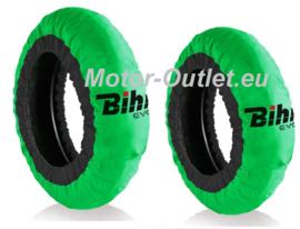 Bihr EVO2 Bandenwarmers groen