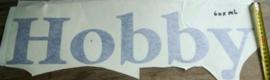 Hobby sticker