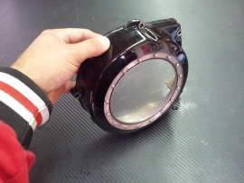 Vmax Koppelingsdeksel zwartopen   vmax 1200 (DEMO)