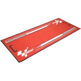 Garage Mat / Milieu Mat MotoGP  RED Serie 4