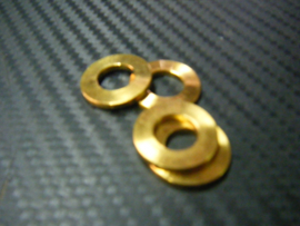 Remklauw Spacers/Shims 2mm