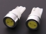 Lamp Xenon LED - lamp T10  1W WIT (set 2 stuks)