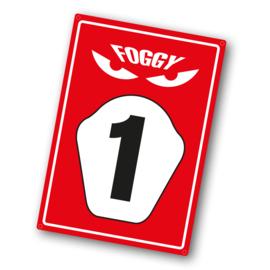 Parkeer Bord   / Parking Signs Foggy Ducati 3D-logo