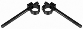 Clipons 48mm Aluminium Clip-On  Kit - Black