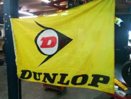 Vlag DUNLOP Official  (145 x 95 cm) gebr