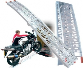 Oprijplaat aluminium breed