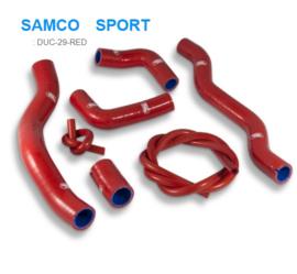 SAMCO Sport  radiateurslangen Ducati 937 Supersport  DUC-29RED