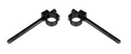 Clipons 46mm Aluminium Clip-On  Kit - Black