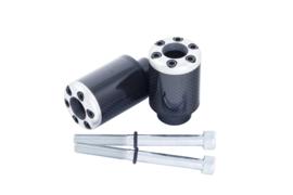 BikeTek Carbon Fibre Crash Protector Honda cbr600 F  Fairing Mod Req (Drill)