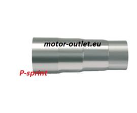 uitlaatverloopstuk P-sprint 55 > 50 > 48 > 45mm  , RVS 905505