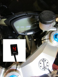 Versnellings indicator GIpro  rood Ducati