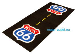 Garage Mat  Vloerkleed Custom Route 66