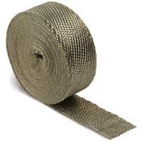 Uitlaat wrap band gebroken titaniumwhite