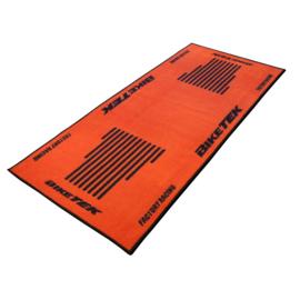 Garage Mat / Milieu Mat KTM Orange-black