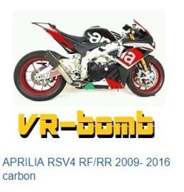 uitlaat VR-Bomb CARBON  Aprilia RSV4R 10-16