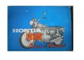 boekje Honda cb500 origineel