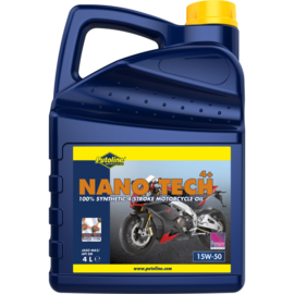 olie  Putoline nano tech 4+ 15W50  4l