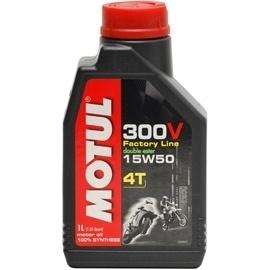 olie  Motul 300V factory line 15W50 4T 1L