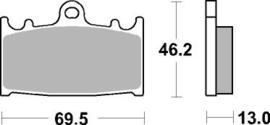 remblokken Kawasaki / Suzuki frixion
