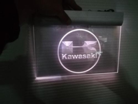 neon bord Kawasaki (gebruikt marktpl)