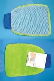 2 in 1 microvezel handschoen