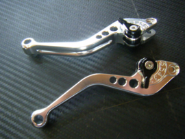 Rem  & Koppelingshendel SET  LINKS & RECHTS CNC aluminium