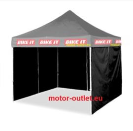 24/7 MX-Race Easy-Up PROFESSIONELE  Race Tent met 3 zijwanden
