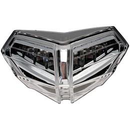 achterlicht WHITE DUCATI 848-1098 - 1198  LED (zonder knipperlicht)