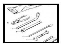 gereedschapset  toolset honda cb500 four