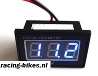 Accuspanning meter digitaal