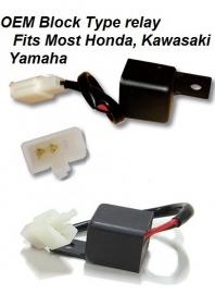relais LED KNIPPERLICHT OEM HONDA KAWASAKI YAMAHA Tiumph KTM enz enz