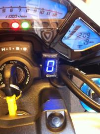 Versnellings indicator GIpro  blauw (Honda stekker)