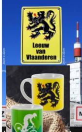 verkeersbord Leeuw van Vlaanderen