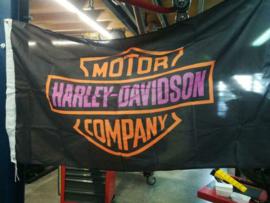 Vlag Harley Davidson Lady  150 x 87 cm