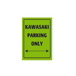 Parkeer Bord   / Parking Signs Kawasaki