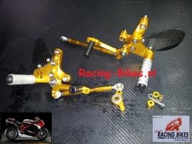 Rem/Schakelset  SATO-racing Type 2C  (Ducati 1198 /  1098 / 898 / enz....)