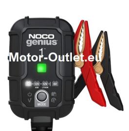 acculader  Lithium/Lood 6V & 12V Noco Genius 1 (2-30Ah accu`s)