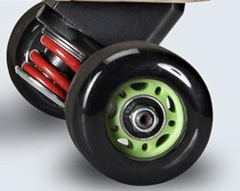 SBYKE complete achterzijde skatebracket incl. wielen