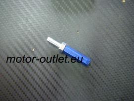 schakelstang verlenger M6 blauw