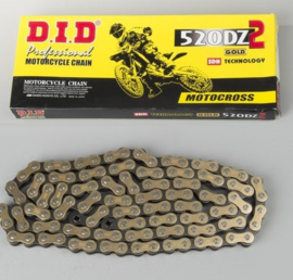 ketting DID  - 520 DZ2 gold - (46schakels)