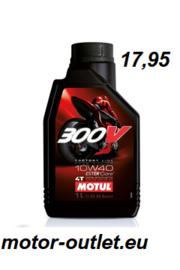 olie  Motul 300V factory line10W40 4T 1L